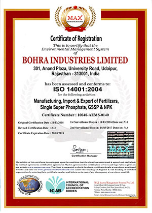 iso 14001 certified companies in india